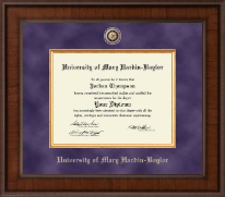 University of Mary Hardin Baylor Diploma Frame - Presidential Masterpiece Diploma Frame in Madison