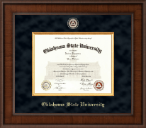 Oklahoma State University Diploma Frame - Presidential Masterpiece Diploma Frame in Madison