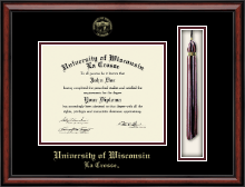 University of Wisconsin La Crosse Diploma Frame - Tassel Edition Diploma Frame in Southport