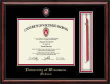 University of Wisconsin Madison Diploma Frame - Spirit Tassel Edition Diploma Frame in Southport