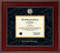 Colorado College Diploma Frame - Presidential Masterpiece Diploma Frame in Jefferson