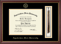 Appalachian State University Diploma Frame - Tassel Edition Diploma Frame in Newport