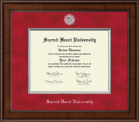 Sacred Heart University Diploma Frame - Presidential Masterpiece Diploma Frame in Madison