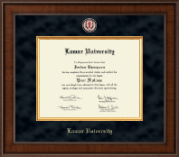 Lamar University Diploma Frame - Presidential Masterpiece Diploma Frame in Madison