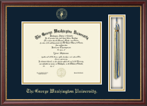 The George Washington University Diploma Frame - Tassel Edition Diploma Frame in Newport