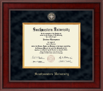 Southwestern University Diploma Frame - Presidential Masterpiece Diploma Frame in Jefferson