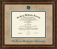 The George Washington University Diploma Frame - Heirloom Edition Diploma Frame in Ashford