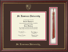 St. Lawrence University Diploma Frame - Tassel Edition Diploma Frame in Newport
