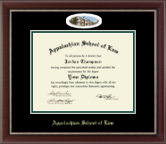 Appalachian School of Law Diploma Frame - Campus Cameo Diploma Frame in Chateau