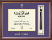 Knox College Diploma Frame - Tassel Edition Diploma Frame in Newport