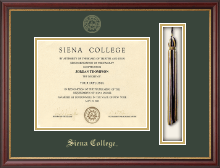 Siena College Diploma Frame - Tassel Edition Diploma Frame in Newport