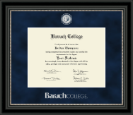 Baruch College Diploma Frame - Regal Edition Diploma Frame in Noir