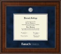 Baruch College Diploma Frame - Presidential Masterpiece Diploma Frame in Madison