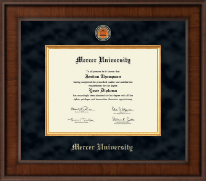 Mercer University Diploma Frame - Presidential Masterpiece Diploma Frame in Madison