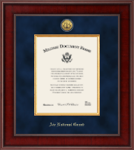 Air National Guard Diploma Frame - Presidential Gold Engraved Air National Guard Certificate Frame in Jefferson