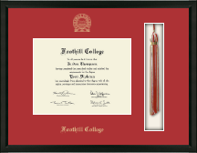 Foothill College Diploma Frame - Tassel Edition Diploma Frame in Omega