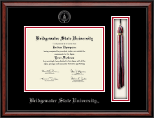 Bridgewater State University  Diploma Frame - Tassel Edition Diploma Frame in Southport