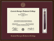 Central Georgia Technical College Diploma Frame - Tassel Edition Diploma Frame in Delta