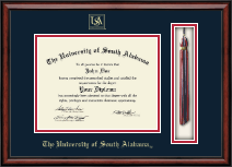 University of South Alabama Diploma Frame - Tassel Edition Diploma Frame in Southport