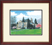 University of Washington Lithogrpah Frame - Framed Lithograph in Kensington Gold