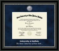 University at Buffalo Diploma Frame - Regal Edition Diploma Frame in Noir