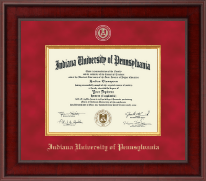 Indiana University of Pennsylvania Diploma Frame - Presidential Masterpiece Diploma Frame in Jefferson