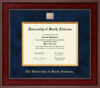 University of South Alabama Diploma Frame - Presidential Masterpiece Diploma Frame in Jefferson