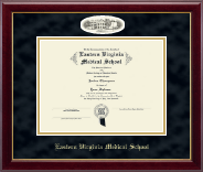 Eastern Virginia Medical School Diploma Frame - Campus Cameo Diploma Frame in Gallery