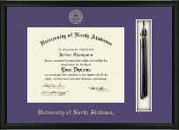 University of North Alabama Diploma Frame - Tassel Edition Diploma Frame in Omega
