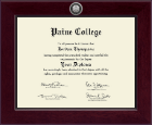 Paine College Diploma Frame - Century Silver Engraved Diploma Frame in Cordova