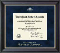 University of Northern Colorado Diploma Frame - Regal Edition Diploma Frame in Noir