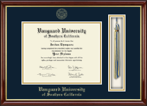 Vanguard University of Southern California Diploma Frame - Tassel Edition Diploma Frame in Southport Gold