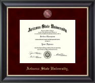 Arizona State University Diploma Frame - Regal Edition Diploma Frame in Noir