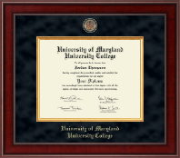 University of Maryland University College Diploma Frame - Presidential Masterpiece Diploma Frame in Jefferson