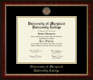 University of Maryland University College Diploma Frame - Masterpiece Medallion Diploma Frame in Murano