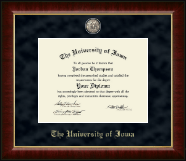 The University of Iowa Diploma Frame - Regal Edition Diploma Frame in Murano