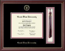 Grand View University Diploma Frame - Tassel Edition Diploma Frame in Newport