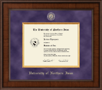 University of Northern Iowa Diploma Frame - Presidential Masterpiece Diploma Frame in Madison