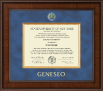 State University of New York Geneseo Diploma Frame - Presidential Masterpiece Diploma Frame in Madison