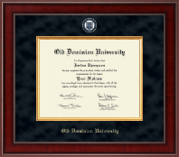 Old Dominion University Diploma Frame - Presidential Masterpiece Diploma Frame in Jefferson