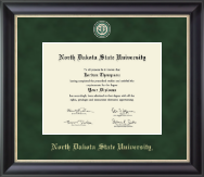 North Dakota State University Diploma Frame - Regal Edition Diploma Frame in Noir