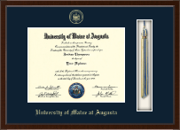 University of Maine at Augusta Diploma Frame - Tassel Edition Diploma Frame in Delta