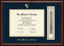 The Master's College Diploma Frame - Tassel Edition Diploma Frame in Southport