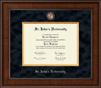St. John's University, New York Diploma Frame - Presidential Masterpiece Diploma Frame in Madison
