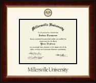 Millersville University of Pennsylvania Diploma Frame - Dimensions Diploma Frame in Murano