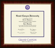 Grand Canyon University Diploma Frame - Dimensions Diploma Frame in Murano