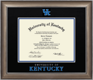 University of Kentucky Diploma Frame - Dimensions Diploma Frame in Easton