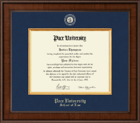 Pace University Diploma Frame - Presidential Masterpiece Diploma Frame in Madison