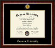 Towson University Diploma Frame - Masterpiece Medallion Diploma Frame in Murano