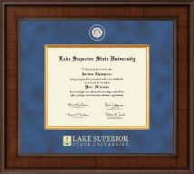 Lake Superior State University Diploma Frame - Presidential Masterpiece Diploma Frame in Madison